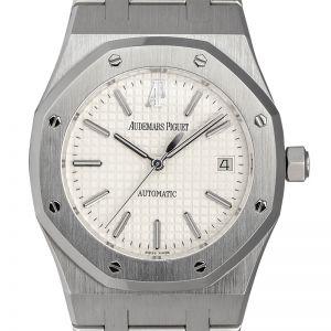 Audemars Piguet Royal Oak 39mm Steel White Dial Watch 15300ST.OO.1220ST.01