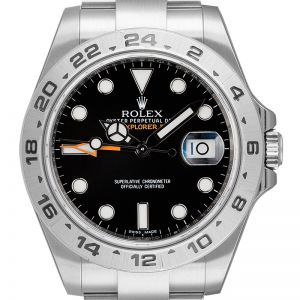 Rolex Explorer II Stainless Steel Black Dial 216570 Watch
