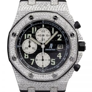 Audemars Piguet Royal Oak Offshore 42mm Steel Custom Honeycomb Diamond Set