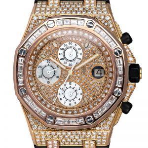 Audemars Piguet Royal Oak Offshore 26178OK.OO.D002CA.01 Custom Diamond Set Watch