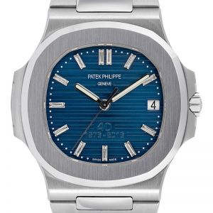 Patek Philippe Nautilus 5711 with Custom 40th Anniversary Dial