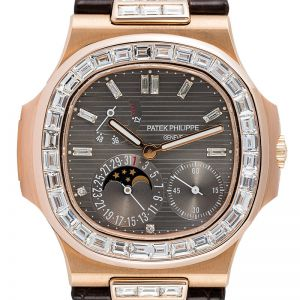 Patek Philippe Nautilus 5712R Custom Diamond Set