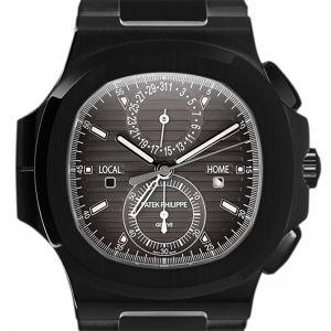 Custom Black PVD Patek Philippe Nautilus 5990/1A