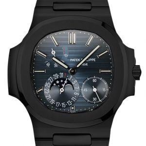 Custom Black PVD Patek Philippe Nautilus 5712/1A Blue Dial