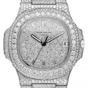Custom Diamond Set Patek Philippe Nautilus 5711/1A-001