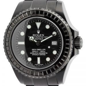 Rolex Sea-Dweller Deepsea Black Sapphire Bezel 116660