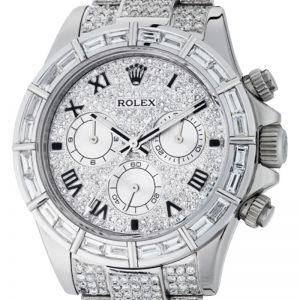 Rolex Cosmograph Daytona White Gold Diamond Set 116509