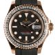 Rolex Yacht-Master 40mm Everose Gold 116655 Diamond Bezel
