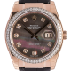 Rolex Datejust MOP/Diamonds Leather Strap 116185
