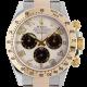 Rolex Cosmograph Daytona Bimetal White/Arabic Dial 116523