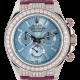 Rolex Cosmograph Daytona White Gold Sky Blue Dial Diamond 116519