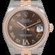 Rolex DateJust 31 bi-metal Steel & Everose Gold Chocolate/Roman dial 178271