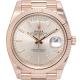 Rolex Day-Date 40 18ct Everose Gold Sundust Stripe Motif President 228235