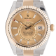 Rolex Sky-Dweller Steel & Yellow Gold Champagne/Index Markers Dial 326933