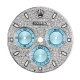 Rolex Daytona Diamond Pavé/Blue Subdials Custom Dial