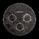 Rolex Daytona 40mm Black Diamond Pavé Custom Dial