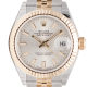 Rolex Lady DateJust 28mm Steel & Yellow Gold Silver Index Dial Jubilee 279173