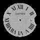 Cartier Ballon Bleu 42mm Diamond Pavé/Roman Numeral Custom Dial