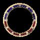 Rolex GMT-Master II Yellow Gold Pepsi Baguette Cut Precious Stones Custom Bezel
