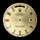 Rolex Day-Date 41mm Gold Baguette Cut Diamond Custom Dial