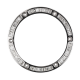 Hublot Big Bang 44mm White Gold Baguette Cut Diamond Custom Bezel