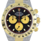 Rolex Cosmograph Daytona Steel&Gold Black-Champagne/Index 116523