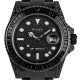 Rolex Black GMT Master II Custom PVD