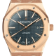Audemars Piguet Royal Oak Rose Gold Blue Dial 15400OR.OO.1220OR.03