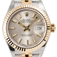 Rolex Lady DateJust 28mm Steel & Yellow Gold Silver Index Dial Jubilee Bracelet Watch 279173