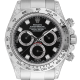 Rolex Daytona 18ct White Gold Diamond Set with Black/Diamonds Dial 116509