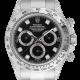 Rolex Daytona 18ct White Gold Diamond Set with Black/Diamonds Dial 116509