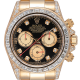 Rolex Daytona 18ct Yellow Gold Diamond Set with Custom Baguette-Cut Diamond Bezel 116528