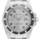 Rolex Submariner Date Stainless Steel Diamond Set with Custom PavE Dial 116610LN