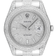 Rolex Datejust 41mm Stainless Steel Diamond Set with Diamond PavE Dial 116334