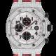 Audemars Piguet Royal Oak Offshore 42mm Diamond Set with Red Python Strap 26170ST.OO.1000ST.01