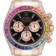 Rolex Daytona 18ct Everose Gold Custom Rainbow 116505