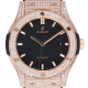 Hublot Classic Fusion 42mm Rose Gold Custom Diamond Set 542.OX.1181.LR