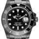 Custom Black PVD Rolex Submariner Date Black Dial 116610LN