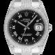 Rolex Date in Stainless Steel Custom Diamond Set 115200