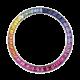 Rolex Daytona White Gold Rainbow Custom Bezel