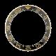 Rolex GMT-Master II Yellow Gold 18k Original Factory Bezel