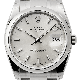 Rolex Date 34mm Stainless Steel Silver/Index Oyster 115200