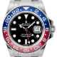 Rolex GMT-Master II 18ct White Gold Black/Indexes 116719BLRO