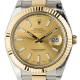 Rolex DateJust II 41mm Steel/Gold Champagne/Index Oyster 116333