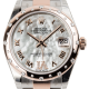 Rolex DateJust 31 Steel and Everose Gold Mother of Pearl Dial Oyster 178341