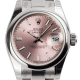 Rolex Lady-DateJust 26 Steel Pink/Index Oyster 179160