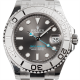 Rolex Yacht-Master Steel and Platinum Rhodium Dial Oyster 268622
