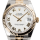 Rolex DateJust 31 Steel and Yellow Gold White/Roman Jubilee 178273