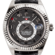 Rolex Sky-Dweller 18ct White Gold Black Alligator Strap 326139