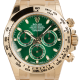 Rolex Daytona 18ct Yellow Gold Green Dial 116508